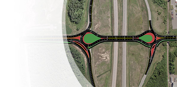 Route 15 / Harrisville Boulevard Interchange